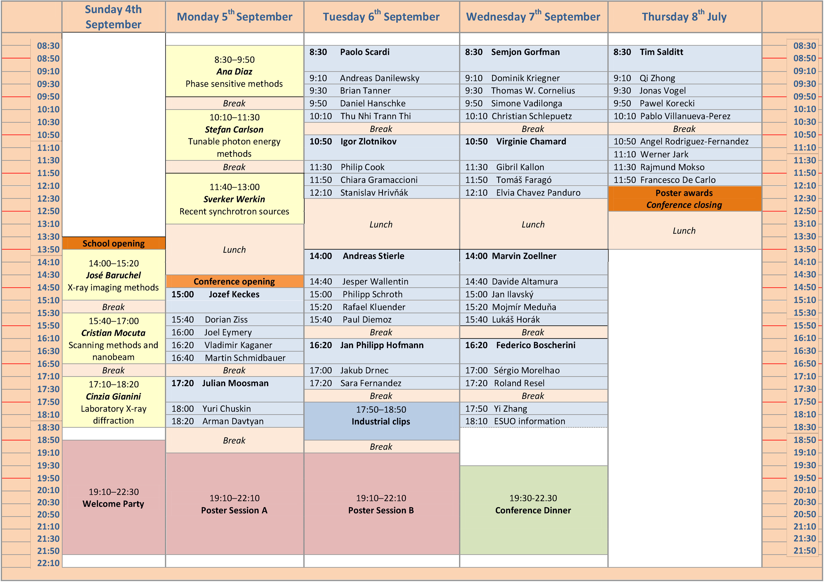 program - version August 29